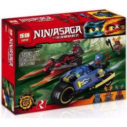 Lepin 06043 Bela 10579 (NOT Lego Ninjago Movie 70622 Desert Lightning ) Xếp hình Siêu Xe Tia Chớp Của Jay 231 khối