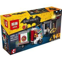 Bela 10629 Lari 10629 LEPIN 07057 SHENG YUAN SY SY878 Xếp hình kiểu THE LEGO BATMAN MOVIE Scarecrow Special Delivery Scarecrow Pizza Takeaway Vehicle Chuyến Giao Hàng đặc Biệt Của Bù Nhìn 204 khối