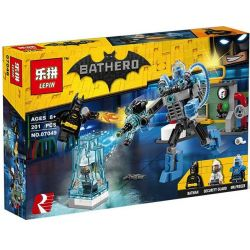 Lepin 07049 Sheng Yuan 877B SY877B Bela 10628 (NOT Lego Batman Movie 70901 Mr. Freeze Ice Attack ) Xếp hình Batman Đại Chiến Mr. Freeze 201 khối