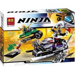 Bela 10220 (NOT Lego Ninjago Movie 70722 Overborg Attack ) Xếp hình Tấn Công Overborg 207 khối