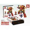 Sheng Yuan MK46 Lepin 38001 (NOT Lego Super Heroes Iron Man Mk46 ) Xếp hình Người Sắt Mk46 338 khối