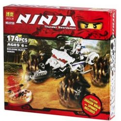Bela 9730 (NOT Lego Ninjago Movie 2518 Nuckals Atv ) Xếp hình Nuckals Atv 174 khối