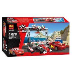 NOT Lego CARS 8423 World Grand Prix Racing Rivalry Racing Story Grandpatig Grand Prix , Bela 10008 Lari 10008 Xếp hình Thế Vận Hội Grand Prix Racing Rivalry 136 khối
