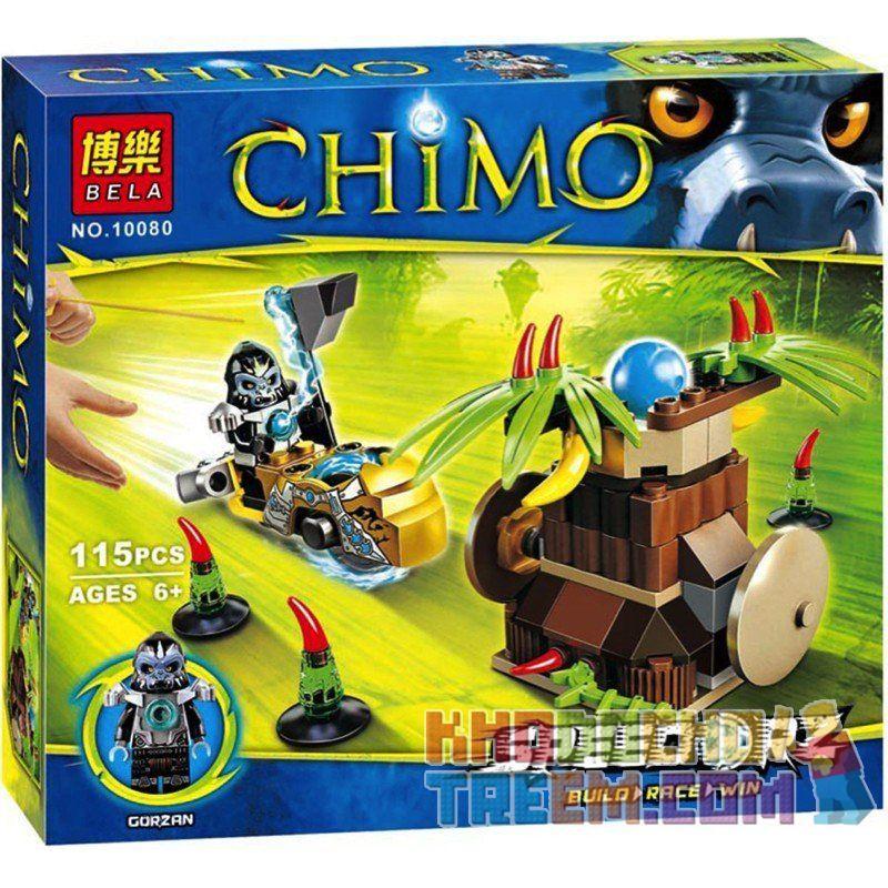Bela 10080 (NOT Lego Legends of Chima 70136 Banana Bash ) Xếp hình Cú Đánh Chuối 120 khối