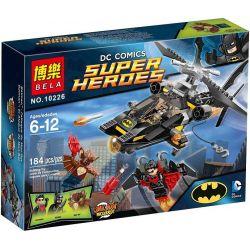 Bela 10226 Lari 10226 SHENG YUAN SY SY313 Xếp hình kiểu Lego DC COMICS SUPER HEROES Batman Man-Bat Attack Battle Of Batman Airship Tấn Công Man-Bat 184 khối