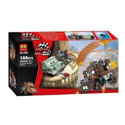NOT Lego CARS 9483 Agent Mater's Escape Racing Mobilization 牙 , Bela 10009 Lari 10009 Xếp hình Thoát Khỏi Mater Agent 144 khối