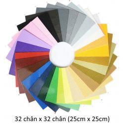 Baseplate 32 x 32 Xếp hình Tấm đế cỡ 32 chân x 32 chân đủ màu giá sốc rẻ nhất