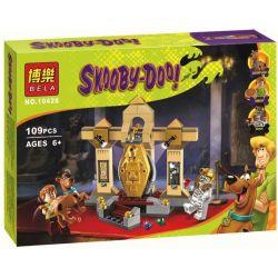 Bela 10428 Lari 10428 Xếp hình kiểu Lego SCOOBY-DOO Mummy Museum Mystery Shi Coolby Mysterious Wooden Museum Bảo Tàng Xác ướp Bí ẩn 110 khối