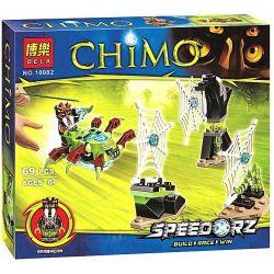 Bela 10082 Lari 10082 Xếp hình kiểu Lego LEGENDS OF CHIMA Web Dash Legend Of Qigong Spider Web Xếp Hình Lưới Nhện 78 khối