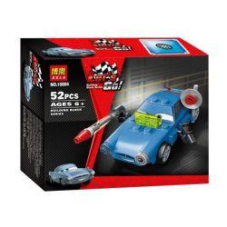 NOT Lego CARS 9480 Finn McMissile Racing Mobilization Mike Missile , Bela 10004 Lari 10004 Xếp hình Cần Dịch 52 khối