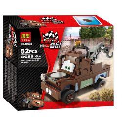 NOT Lego CARS 8201 Radiator Springs Classic Mater Racing Mobilization Forever Plate , Bela 10002 Lari 10002 Xếp hình Cần Dịch 52 khối