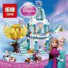 Bela 10435 Lepin 25005 Lele 79168 Sheng Yuan 373 SY373 Jiego JG301 Beninki BQ9001 Lezi 97020 Sx 3003 (NOT Lego Disney Princess 41062 Elsa's Sparkling Ice Castle ) Xếp hình Lâu Đài Băng Tuyết Của Elsa