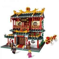 XINGBAO XB-01004 01004 XB01004 Xếp hình kiểu Lego CHINATOWN China Town Martial Art Schools China Street Martial Arts Võ đường 2882 khối