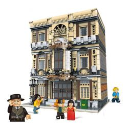 Xingbao XB-01005 (NOT Lego Modular Buildings Creative Cities:maritime Museum ) Xếp hình Bảo Tàng Hải Dương Học 5052 khối