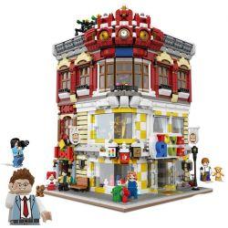 XINGBAO XB-01006 01006 XB01006 Xếp hình kiểu Lego CREATOR Creative Cities Toys And Bookstore Toys And Bookstores Cửa Hàng Sách Và đồ Chơi 5491 khối