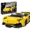 Xingbao XB-03008 (NOT Lego Creator Lamborghini Aventador ) Xếp hình Siêu Xe Ô Tô 834 khối
