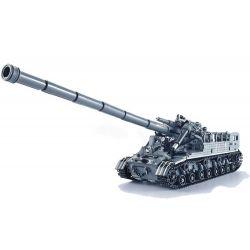 Xingbao XB-06001 (NOT Lego Military Army The T92 Tank ) Xếp hình Xe Tăng T-92 1832 khối