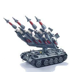 Xingbao XB-06004 (NOT Lego Military Army Sa-3 Gao ) Xếp hình Tên Lửa Sa-3 1753 khối