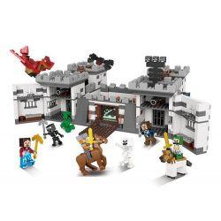XINGBAO XB-09005 09005 XB09005 Xếp hình kiểu Lego MINECRAFT Block World Square Life Holy War Castle Pháo đài 1627 khối