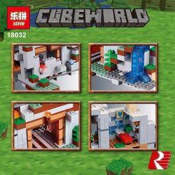 NOT Lego MINECRAFT 21137 The Mountain Cave My World Machine Cave , Bela 10735 Lari 10735 BLANK TM7421 7421 BLX 81062 81085 Decool 831 Jisi 831 LEDUO 76010 LELE 33067 LEPIN 18032 LEZI 93058 SHENG YUAN