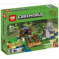 Bela 10733 Lari 10733 LELE 33230 33231 33232 LEPIN 18030 SHENG YUAN SY SY969 Xếp hình kiểu Lego MINECRAFT The Crafting Box 2.0 My World Handmade Box 2.0 Tự Do Sáng Tạo 717 khối