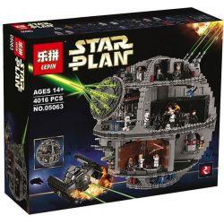 BLANK 60010 KING 81061 LEPIN 05063 LION KING 180019 Xếp hình kiểu Lego STAR WARS Death Star Ngôi Sao Chết 4016 khối