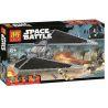 Lepin 05048 Lele 35008 (NOT Lego Star wars 75154 Tie Striker ) Xếp hình Phi Thuyền Tấn Công Tie 543 khối
