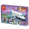 Bela 10545 Lele 79174 Sheng Yuan 807 SY807 (NOT Lego Friends 41100 Heartlake Private Jet ) Xếp hình Phi Cơ Riêng Hồ Trái Tim 236 khối