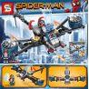 Sheng Yuan 714 SY714 (NOT Lego Super Heroes Civil War Spider-Man Eight-In-One Car ) Xếp hình 8 Bộ Xếp Hình Nhỏ Chủ Đề Người Nhện Về Nhà 893 khối