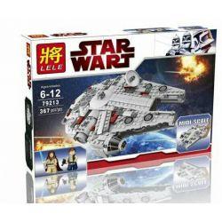 LELE 79213 Xếp hình kiểu Lego STAR WARS Midi-scale Millennium Falcon Phi Thuyền Chim Ưng Ngàn Năm Cỡ Vừa 356 khối