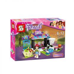 Sheng Yuan 835 SY835 (NOT Lego Friends 41127 Amusement Park Arcade ) Xếp hình Khu Trò Chơi Giải Trí 187 khối