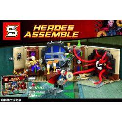 SHENG YUAN SY SY846 Xếp hình kiểu Lego MARVEL SUPER HEROES Doctor Strange's Sanctum Sanctorum Mourning Superhero Singular Dr. Shu Căn Phòng Ma Thuật Của Doctor Strange 358 khối