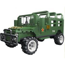 Woma C0710 (NOT Lego Military Army Beijing Jeep Voluma ) Xếp hình Xe Jeep 273 khối