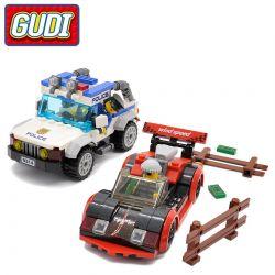 Xinlexin Gudi 9314 (NOT Lego City High Speed Chase ) Xếp hình Đuổi Bắt Tốc Độ Cao 264 khối