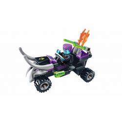 Enlighten 1604 Qman 1604 KEEPPLEY 1601 1602 1603 Xếp hình kiểu Lego SPACE ADVENTURE Starial Adventure Carry 4 Patrol Spacecraft Alien Pioneer Thunder Suspended Motorcycle Wild Motorcycle Mô Tô 4 Bánh