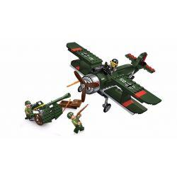 Enlighten 1705 (NOT Lego Military Army Breaking Through ) Xếp hình Máy Bay Chiến Đấu Xâm Nhập 187 khối