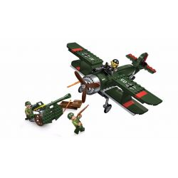 Enlighten 1705 Qman 1705 Xếp hình kiểu Lego TACTICAL ESPIONAGE ACTION Tactical Espionage Action Combat Zones Fire Battlefield Series Breakthrough Empty Line Máy Bay Chiến đấu Xâm Nhập 187 khối