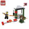 Enlighten 1702 (NOT Lego Military Army Escape The Alert Area ) Xếp hình Trốn Thoát Khỏi Khu Vực Cấm 96 khối
