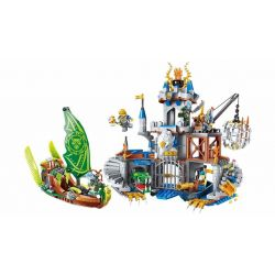 Enlighten 2315 (NOT Lego Nexo Knights Eagle Castle ) Xếp hình Lâu Đài Đại Bàng 656 khối