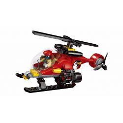 Enlighten 1902 Qman 1902 Xếp hình kiểu Lego Police Battle Force Flying Sqyad Policemen Flying Team Tấn Công Cảnh Sát Bằng Trực Thăng 111 khối