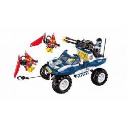 Enlighten 1915 Qman 1915 Xếp hình kiểu Lego Police Battle Force Policemen Flying Tiger Tấn Công Tội Phạm Bay Bằng Tên Lửa Cá Nhân 356 khối