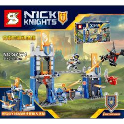 SHENG YUAN SY SY574 Xếp hình kiểu Lego NEXO KNIGHTS Kray's Mobile Wall Tường Di động Của Kray 283 khối