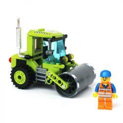 Enlighten 1104 (NOT Lego City Road Roller ) Xếp hình Xe Lu 102 khối