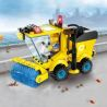 Enlighten 1101 (NOT Lego City Sanitizer ) Xếp hình Máy Quét Đường 102 khối