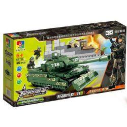 Woma C0728 (NOT Lego Military Army Panther Main Battle Tank ) Xếp hình Xe Tăng 672 khối