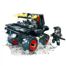 WOMA C0526 0526 Xếp hình kiểu Lego SWAT SPECIAL FORCE Swat Car Ô tô lính đặc nhiệm 306 khối