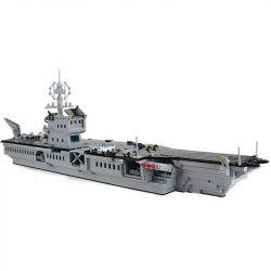 Enlighten Qman 113 Xếp hình kiểu LEGO Military Army CombatZones:Aircraft Carrier Tàu sân bay 990 khối