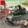 Enlighten 823 (NOT Lego Military Army Battle Tank ) Xếp hình Xe Tăng 466 khối