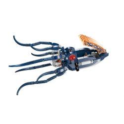 Enlighten 1305 Qman 1305 Xếp hình kiểu Lego PIRATES OF THE CARIBBEAN Legendary Pirates Legendary Pirate Mechanical Squid Mực Máy Của Hải Tặc 231 khối