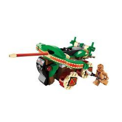 Enlighten 1304 Qman 1304 Xếp hình kiểu Lego PIRATES OF THE CARIBBEAN Legendary Pirates Legendary Pirate Cattle Máy Bắn Tên Của Thổ Dân 146 khối